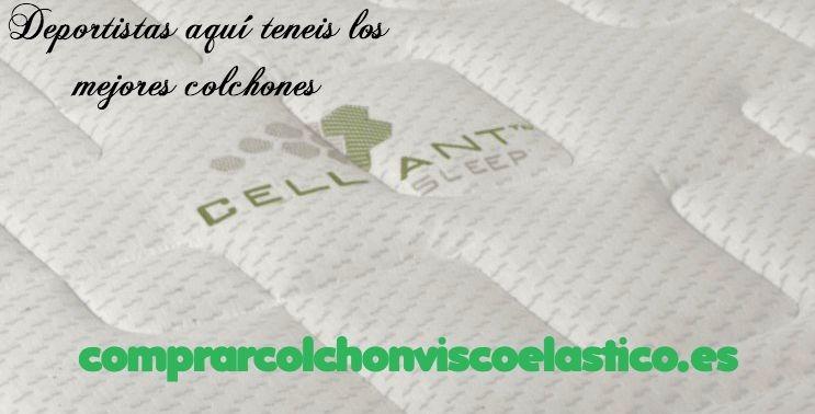 Colchones para deportistas tejido Celliant