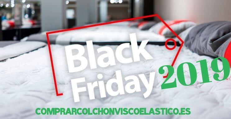 Colchones viscoelástico 2019 Black Friday